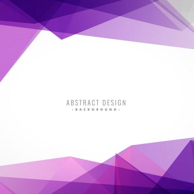 Achtergrond met kleurrijke paarse shapes Gratis Vector