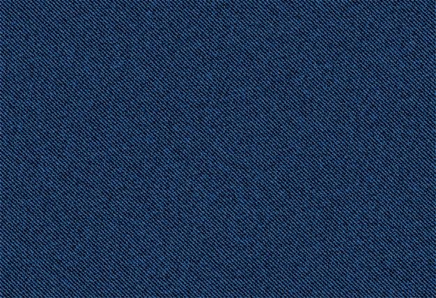 Achtergrond van de textuur van het jeansdenim Premium Vector