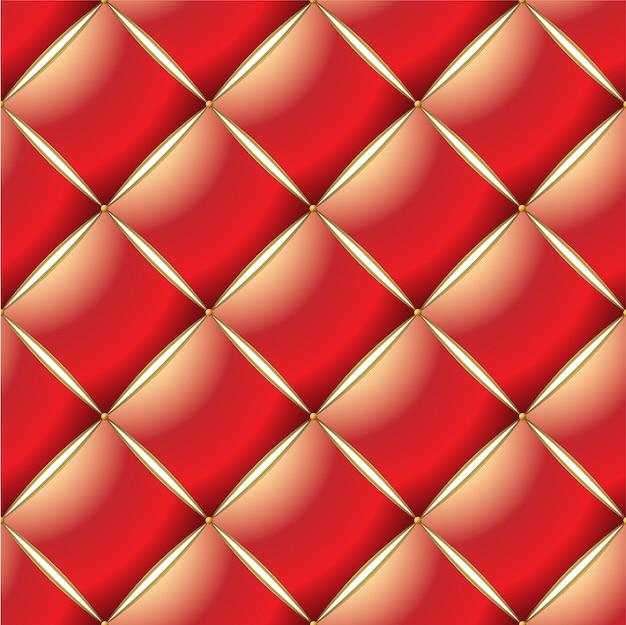 Achtergrond van elegant gewatteerd patroon Premium Vector