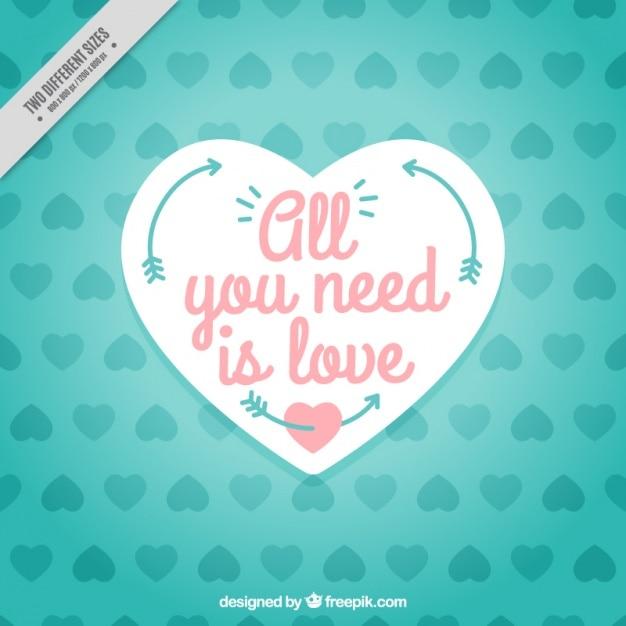 Achtergrond van harten met all you need is love boodschap vector achtergrond van harten met all you need is love boodschap gratis vector voltagebd Images