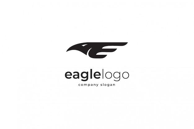 Adelaar logo sjabloon Premium Vector