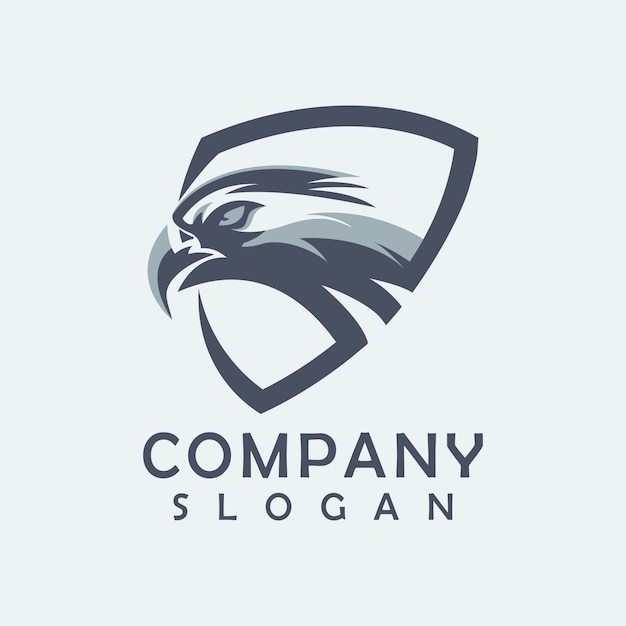Adelaar logo vector Premium Vector