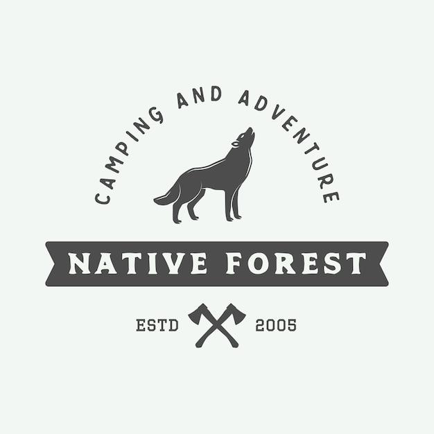 Adventure-logo Premium Vector