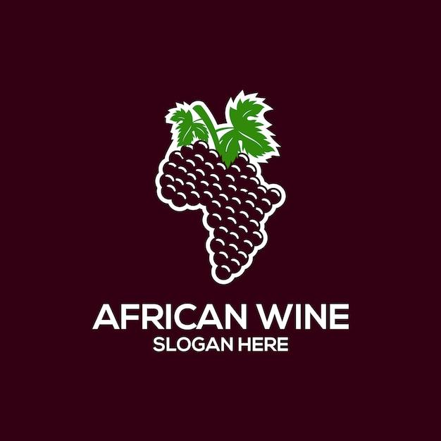 Afrikaans wijnl logboek Premium Vector