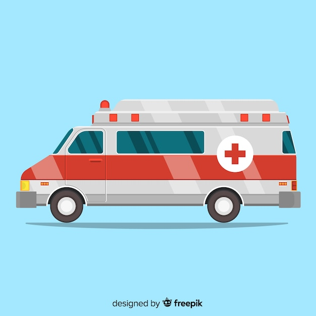 Ambulance vector Gratis Vector