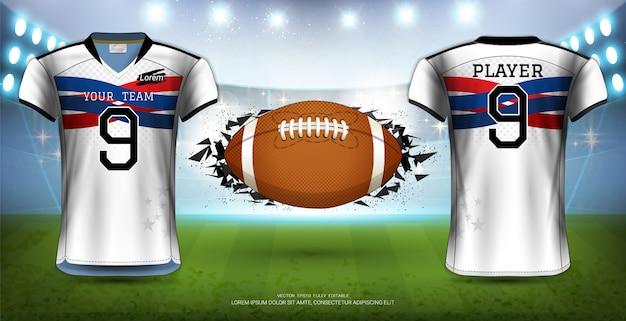 American football Premium Vector