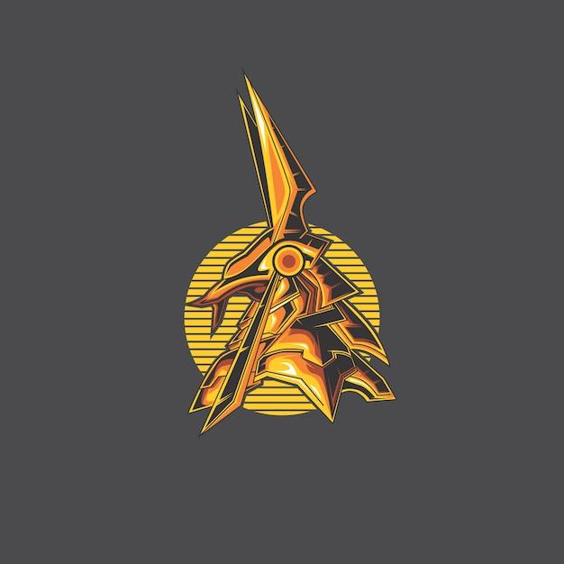 Anubis-logo Premium Vector