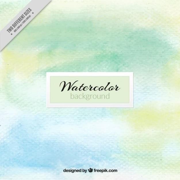 Aquarel achtergrond in zachte tinten Gratis Vector