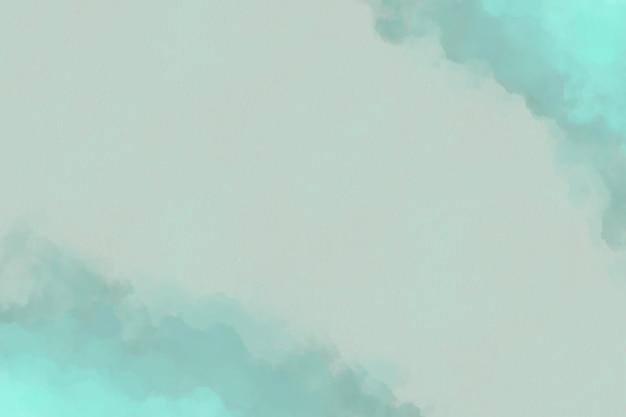 Aquarel achtergrond met wolken Gratis Vector