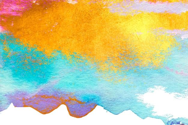 Aquarel gekleurd exemplaar ruimte achtergrond Gratis Vector