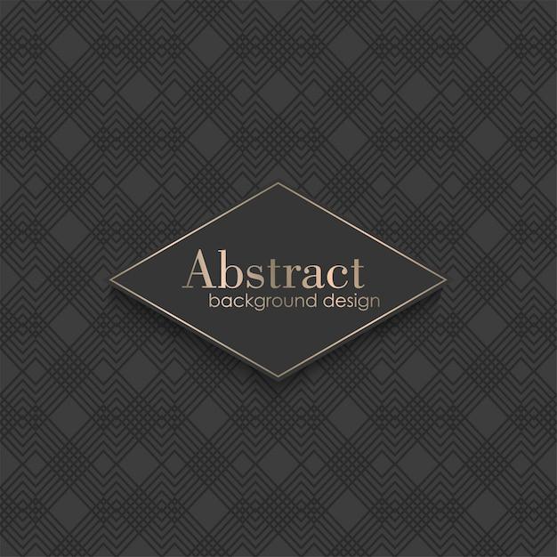 Art deco naadloos patroon met geometrische elementen Gratis Vector