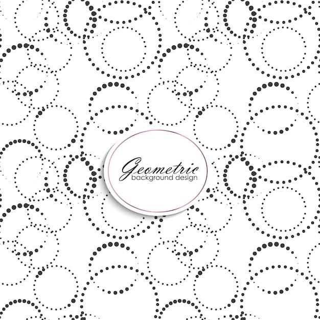 Art deco naadloos patroon met gometrische elementen Gratis Vector
