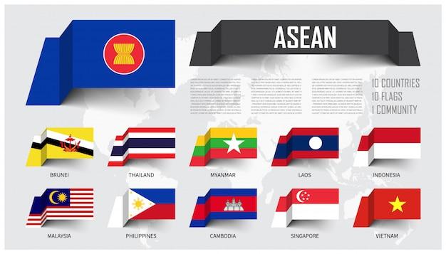 Asean Premium Vector