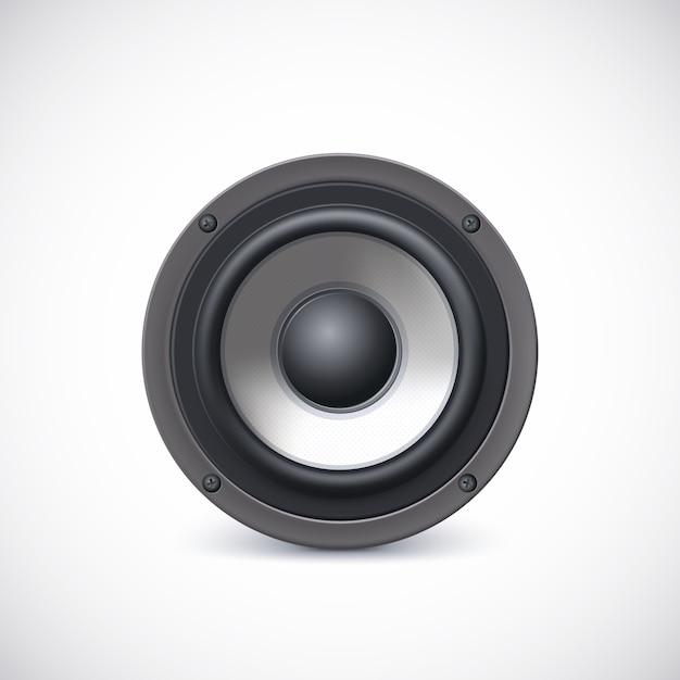 Audio luidspreker Premium Vector
