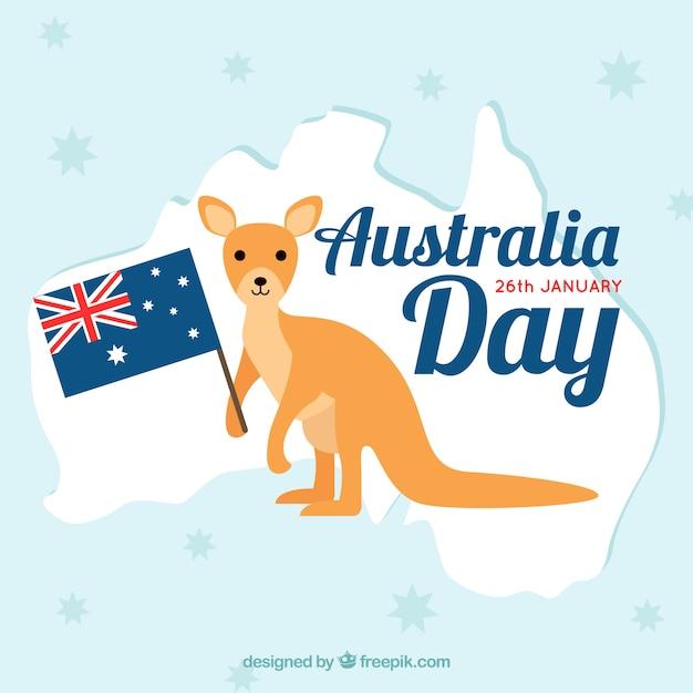 Australië dag Gratis Vector