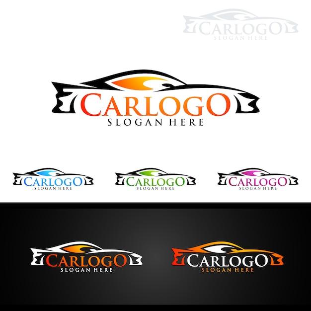Auto Auto Logo Voor Sportwagens Vector Premium Download