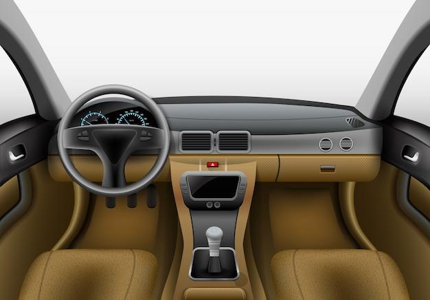 Auto-binnenverlichting Gratis Vector