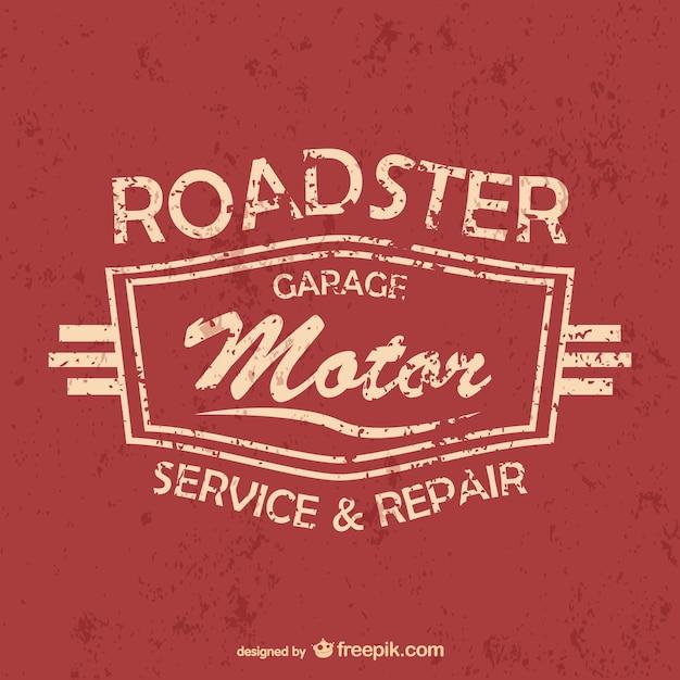 Auto service en garage gratis vector Gratis Vector