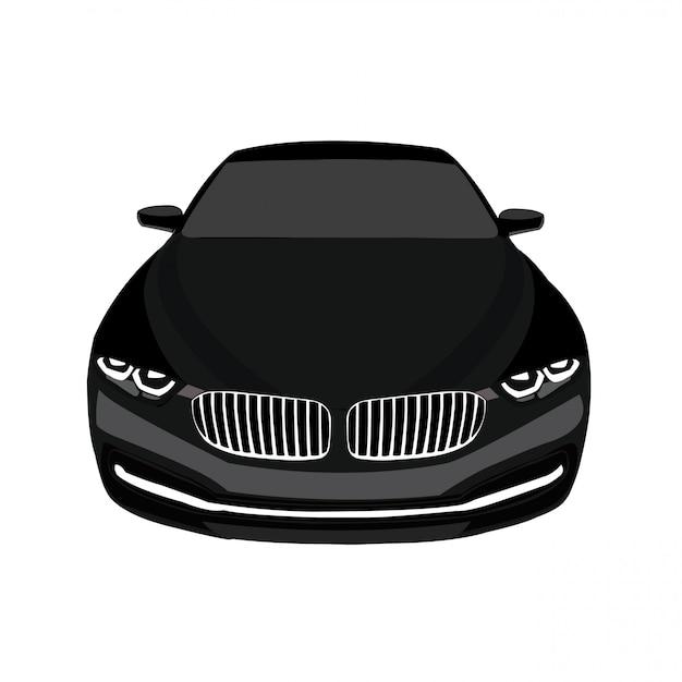Auto show vector illustratie gemakkelijk bewerkbaar en formaat wijzigen Premium Vector