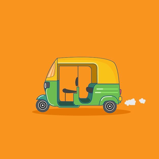 Auto taxi Premium Vector