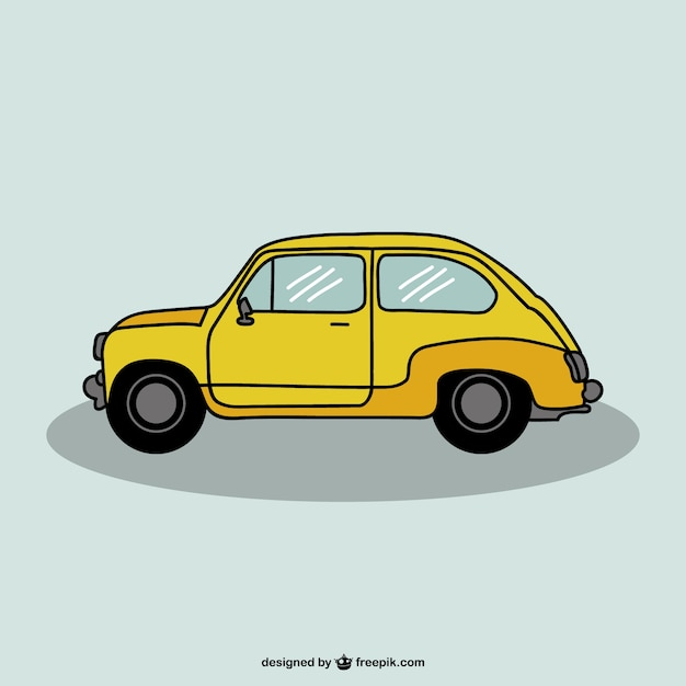 auto tekening vector design vector | gratis download