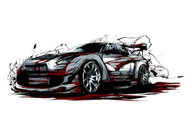 Auto Premium Vector