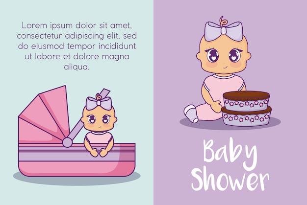 Meisjes in een douche