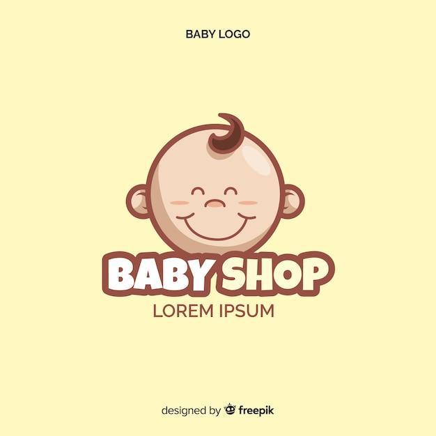 Baby winkel logo Gratis Vector