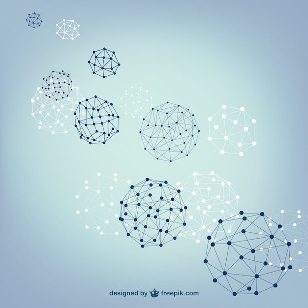 Bal bollen vector structuur Gratis Vector