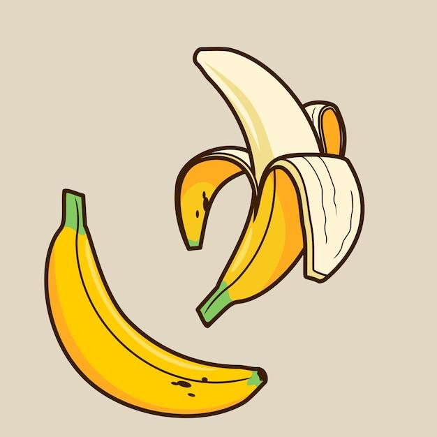Banaan Premium Vector