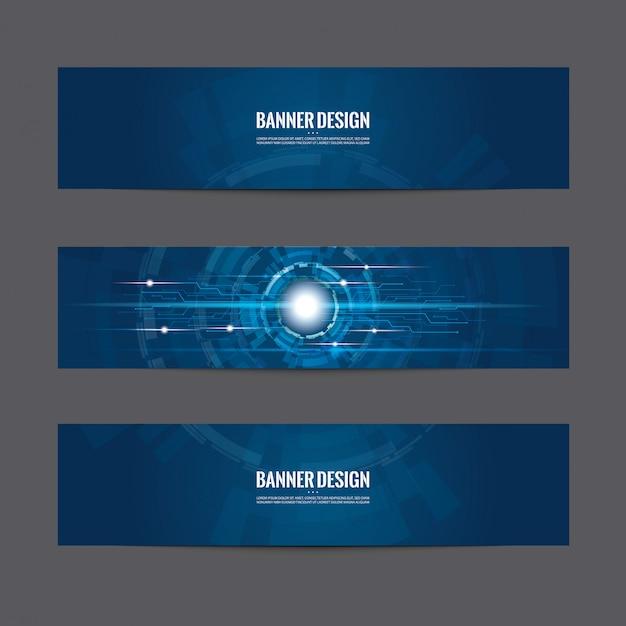 Banier Premium Vector