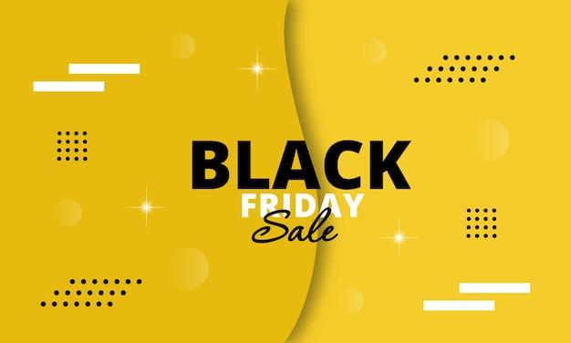 Banner voor black friday-verkoop. Premium Vector