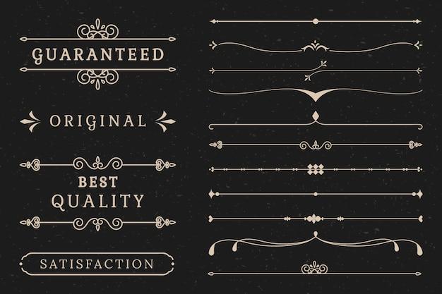 Bannercollectie van topkwaliteit Gratis Vector