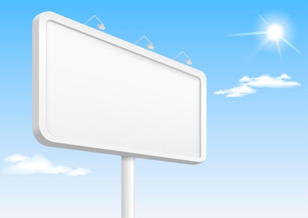 Bannermalplaatje met achtergrondverlichting Premium Vector