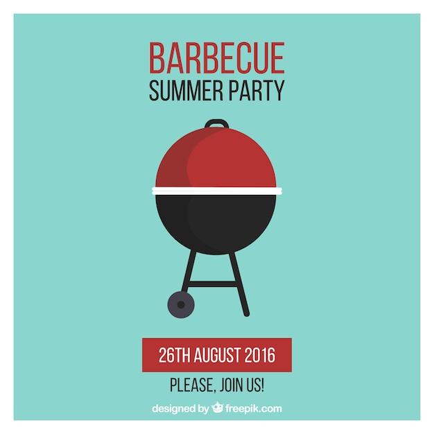 Barbecue gratis poster ontwerp vector gratis download - Barbecue ontwerp ...