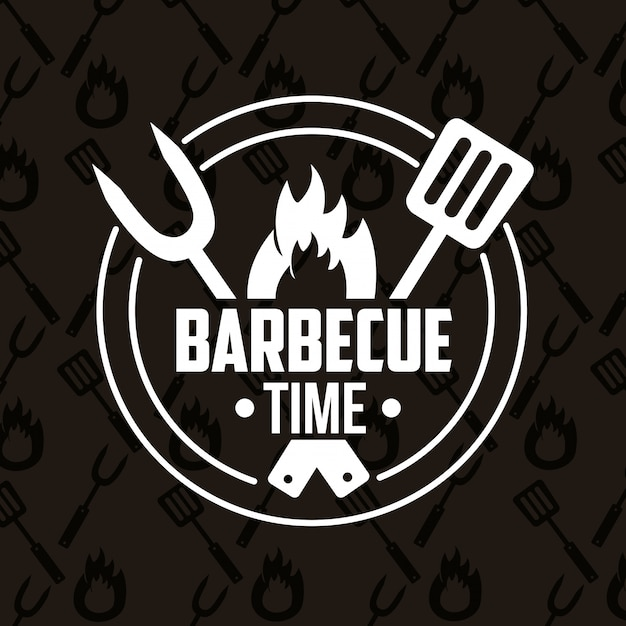 Barbecue Gratis Vector