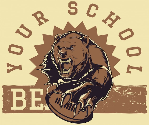 Bears Premium Vector