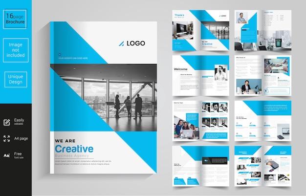 Bedrijf multiperpose brochure Premium Vector