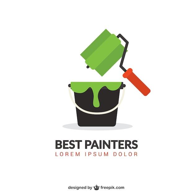 Beste schilders Gratis Vector