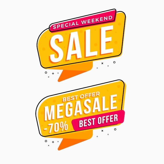Beste verkoop labels tags collectie Premium Vector