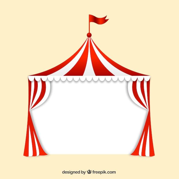 Big top circus Gratis Vector