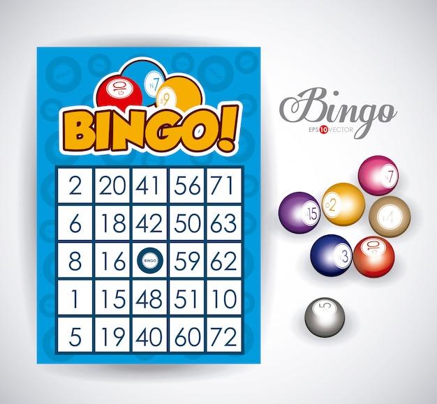 Bingo ontwerp Premium Vector