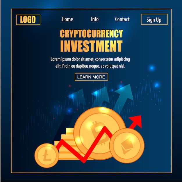 Bitcoin trading transaction blockchain-technologie Premium Vector