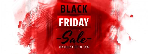 Black friday-verkoop moderne geweldige banner Gratis Vector