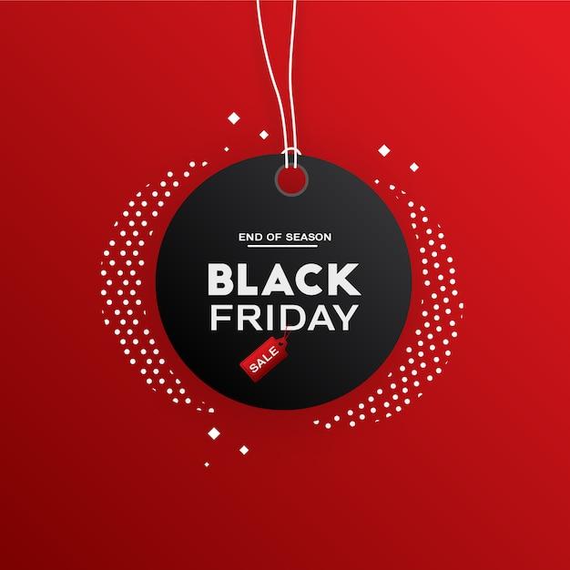 Black friday-verkoop Premium Vector