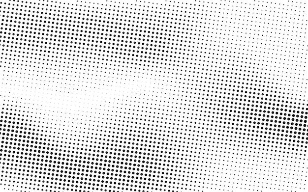Black wave halftone achtergrond Gratis Vector