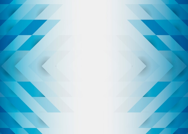 Blauw 3d modern ontwerp als achtergrond Gratis Vector