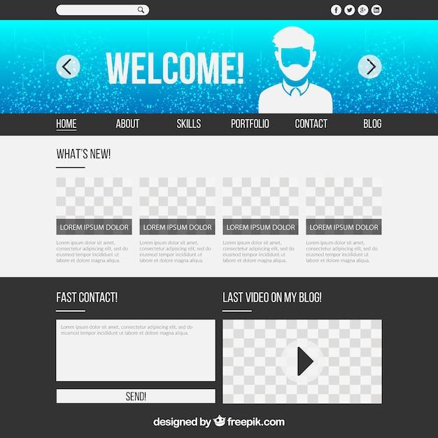 gratis portfolio website