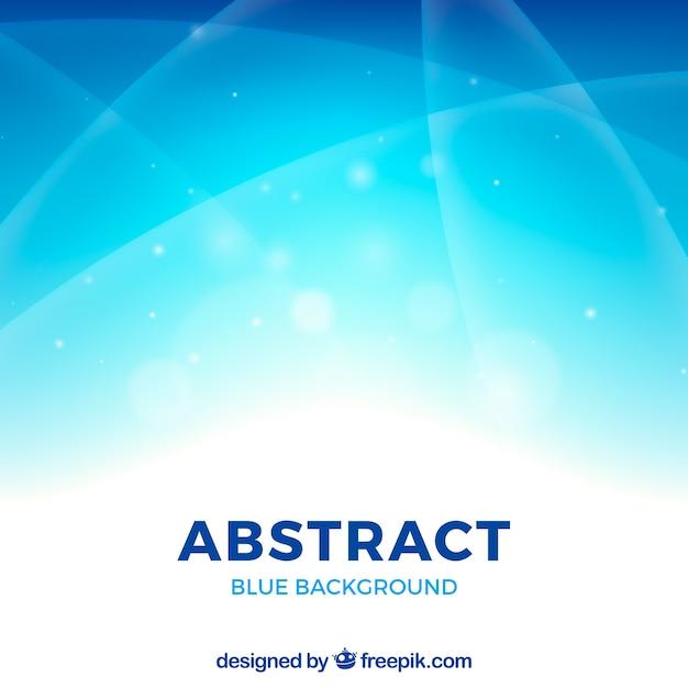 Blauwe abstracte achtergrond met elegante stijl Gratis Vector