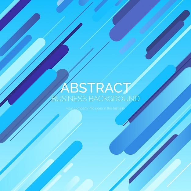 Blauwe abstracte achtergrond Gratis Vector